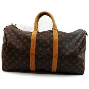 Auth Louis Vuitton Keepall 45 Travel #4280L21